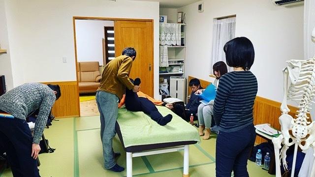 1月の静骨連鎖整体療法の月例整体勉強会を終えて